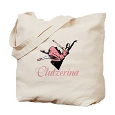Clutzerina the Graceful Tote Bag