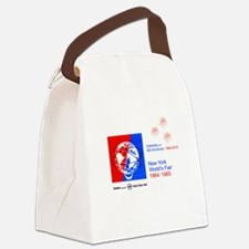 50th Anniversary Fireworks Canvas Lunch Bag