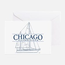 Chicago - Greeting Cards (Pk of 10)