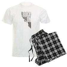 Rock On - Rock Climbing Graphic Tee Pajamas
