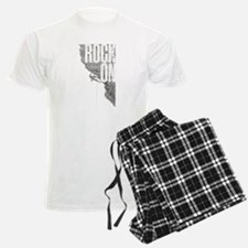 Rock On - Rock Climbing Graphic Tee Pajamas