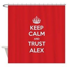 Trust Alex Shower Curtain
