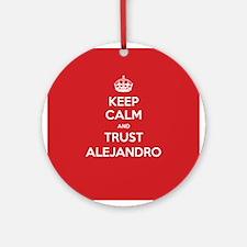 Trust Alejandro Ornament (Round)