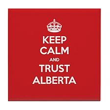 Trust Alberta Tile Coaster