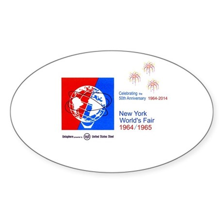 50th Anniversary Fireworks Sticker