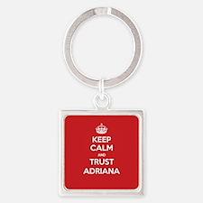 Trust Adriana Keychains