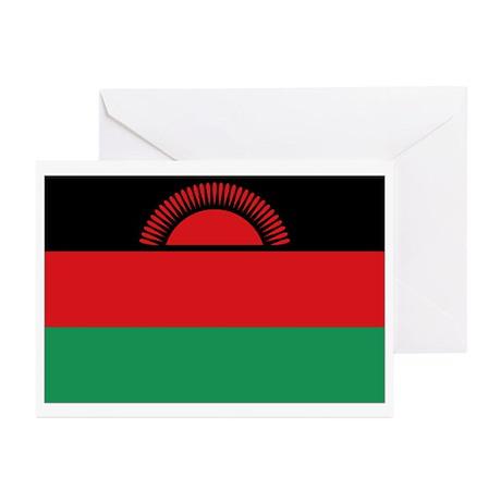 malawi flag Greeting Cards (Pk of 10)