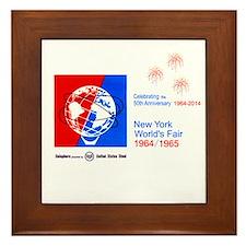 50th Anniversary Fireworks Framed Tile