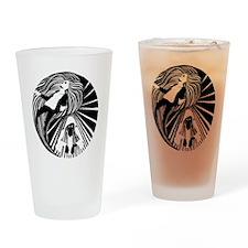 Manic/Depressive Drinking Glass