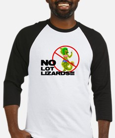 no lizards for dad Baseball Jersey