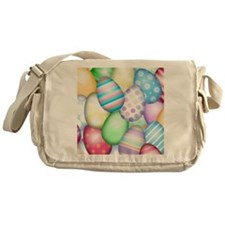 Decorated Eggs Messenger Bag