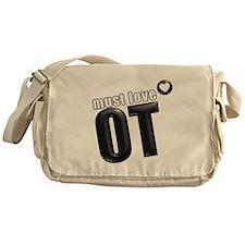 Must Love OT Messenger Bag