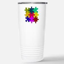 Funny Puzzle Travel Mug