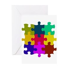 Unique Not a puzzle Greeting Card
