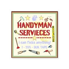 Handyman Sticker