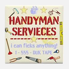 Handyman Tile Coaster