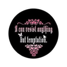 """Temptation 3.5"""" Button (100 pack)"""
