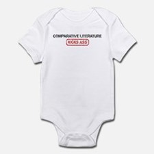 COMPARATIVE LITERATURE kicks  Infant Bodysuit