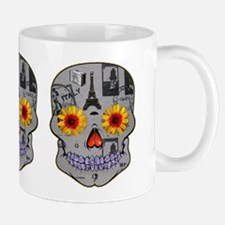 Bon Voyage Sugar Skull Mug