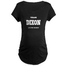 Team Dixon Dark Maternity T-Shirt