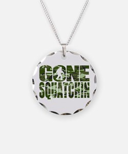 Camo Gone Squatchin Necklace
