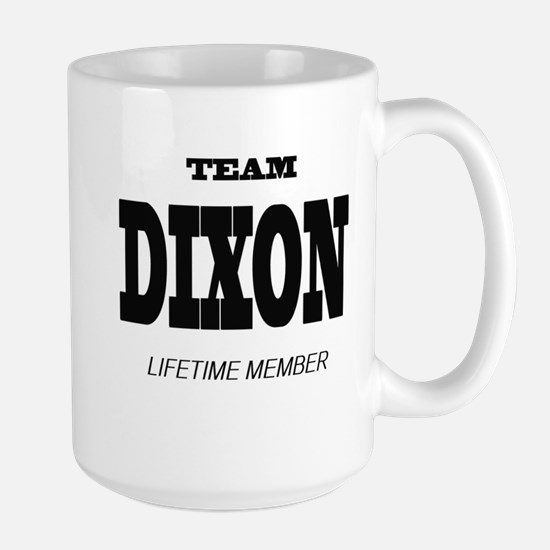 Team Dixon Large Mug Mugs