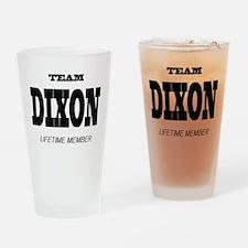 Team Dixon Drinking Glass