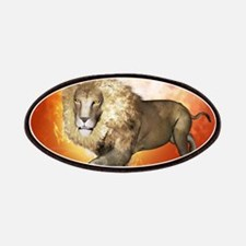 Lion with flame Patches