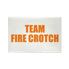 Unique Team firecrotch Rectangle Magnet