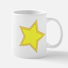 Yellow Star Mugs