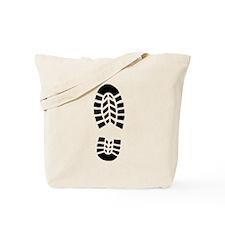 Shoe Print Tote Bag