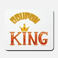 COUPON KING Mousepad