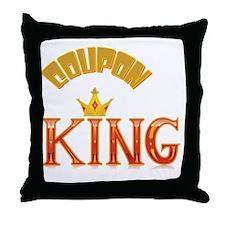 COUPON KING Throw Pillow