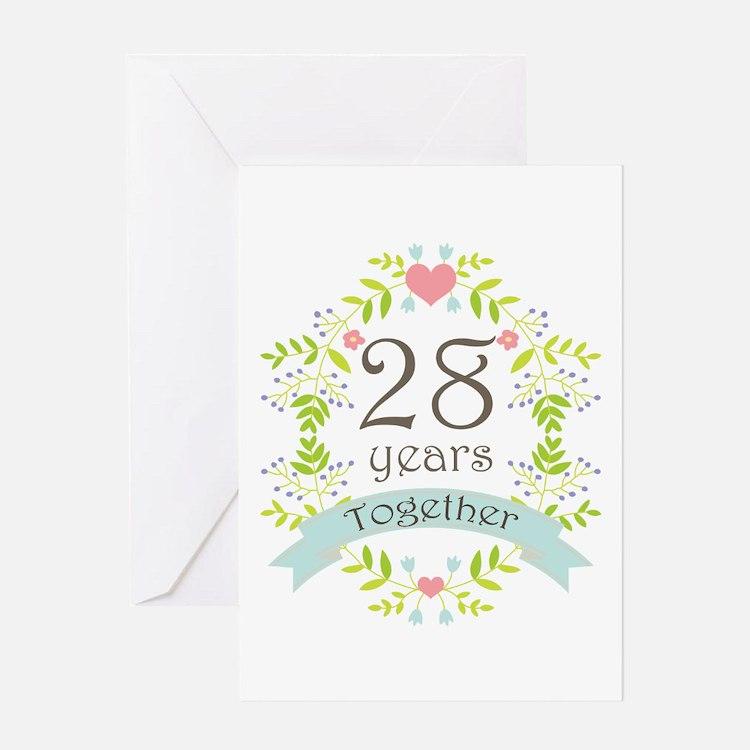 28th Wedding Anniversary Gift: 28Th Wedding Anniversary 28th Wedding Anniversary Greeting