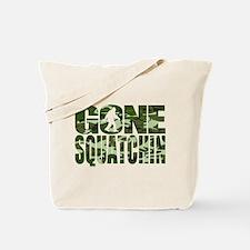 Camo Gone Squatchin Tote Bag