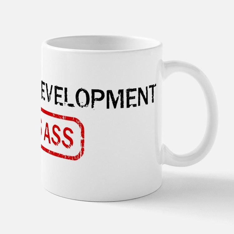 COMMUNITY DEVELOPMENT kicks a Mug