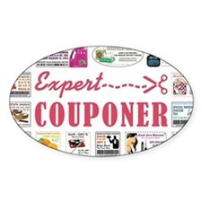 EXPERT COUPONER Decal