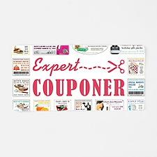 EXPERT COUPONER Aluminum License Plate
