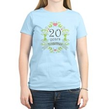 20th Anniversary flowers and T-Shirt