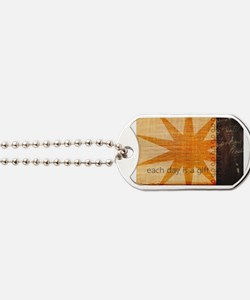 Sunburst Dog Tags