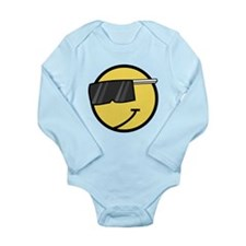 Cool Smiley Face Body Suit