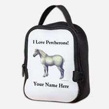 Percheron Horse Neoprene Lunch Bag