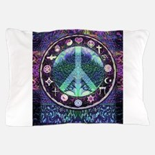 World Religions Peace Pillow Case