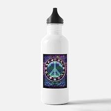 World Religions Peace Water Bottle