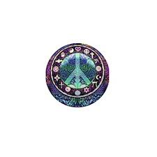 World Religions Peace Mini Button