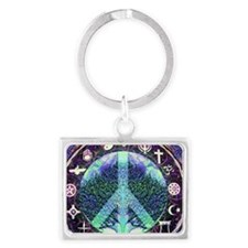 World Religions Peace Keychains