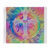 Tye dye Fleece Blankets