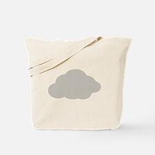 Grey Cloud Tote Bag