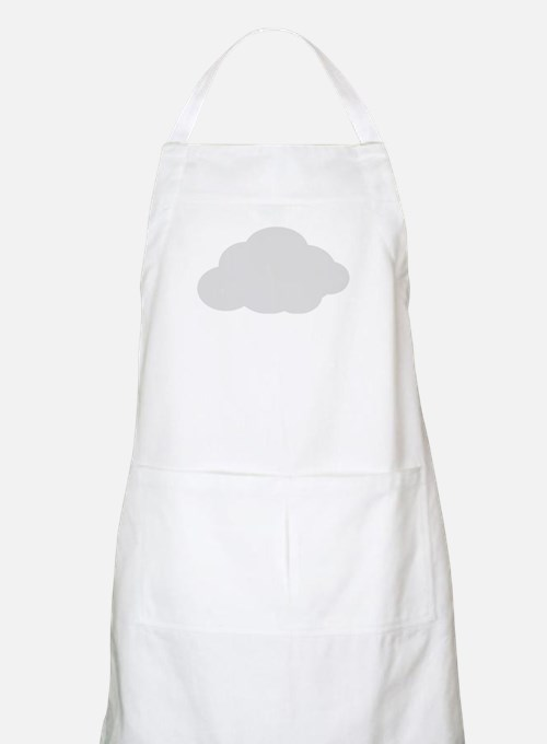 Grey Cloud Apron
