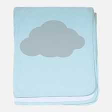Grey Cloud baby blanket